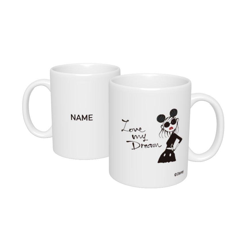 【D-Made】名入れマグカップ  LOVE MY DREAM Disney Artist Collection by Daichi Miura