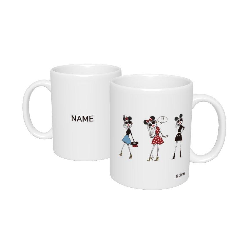 【D-Made】名入れマグカップ  集合 Disney Artist Collection by Daichi Miura