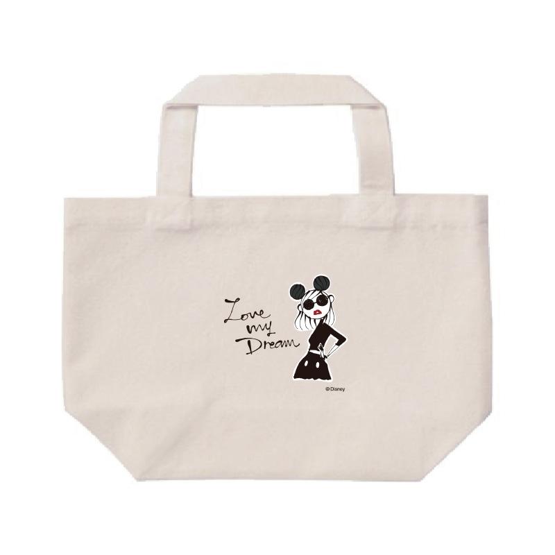 【D-Made】ミニトートバッグ  LOVE MY DREAM Disney Artist Collection by Daichi Miura