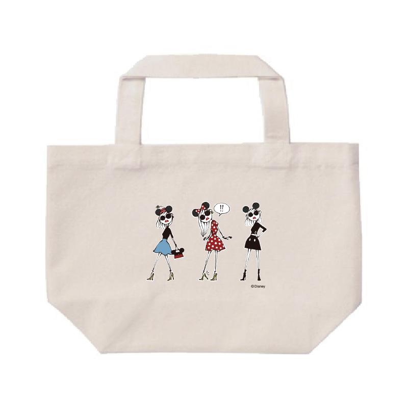 【D-Made】ミニトートバッグ  集合 Disney Artist Collection by Daichi Miura
