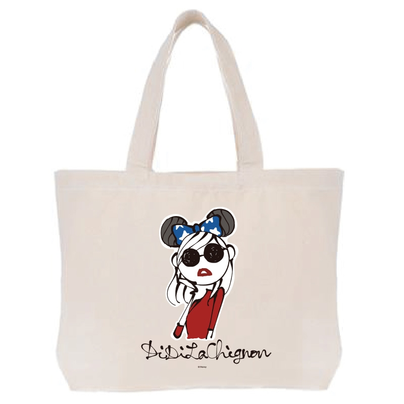 【D-Made】トートバッグ  DiDiLaChignon Disney Artist Collection by Daichi Miura Fantasia