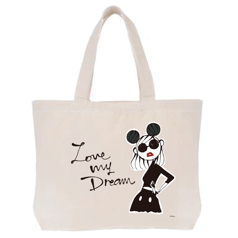 【D-Made】トートバッグ  LOVE MY DREAM Disney Artist Collection by Daichi Miura