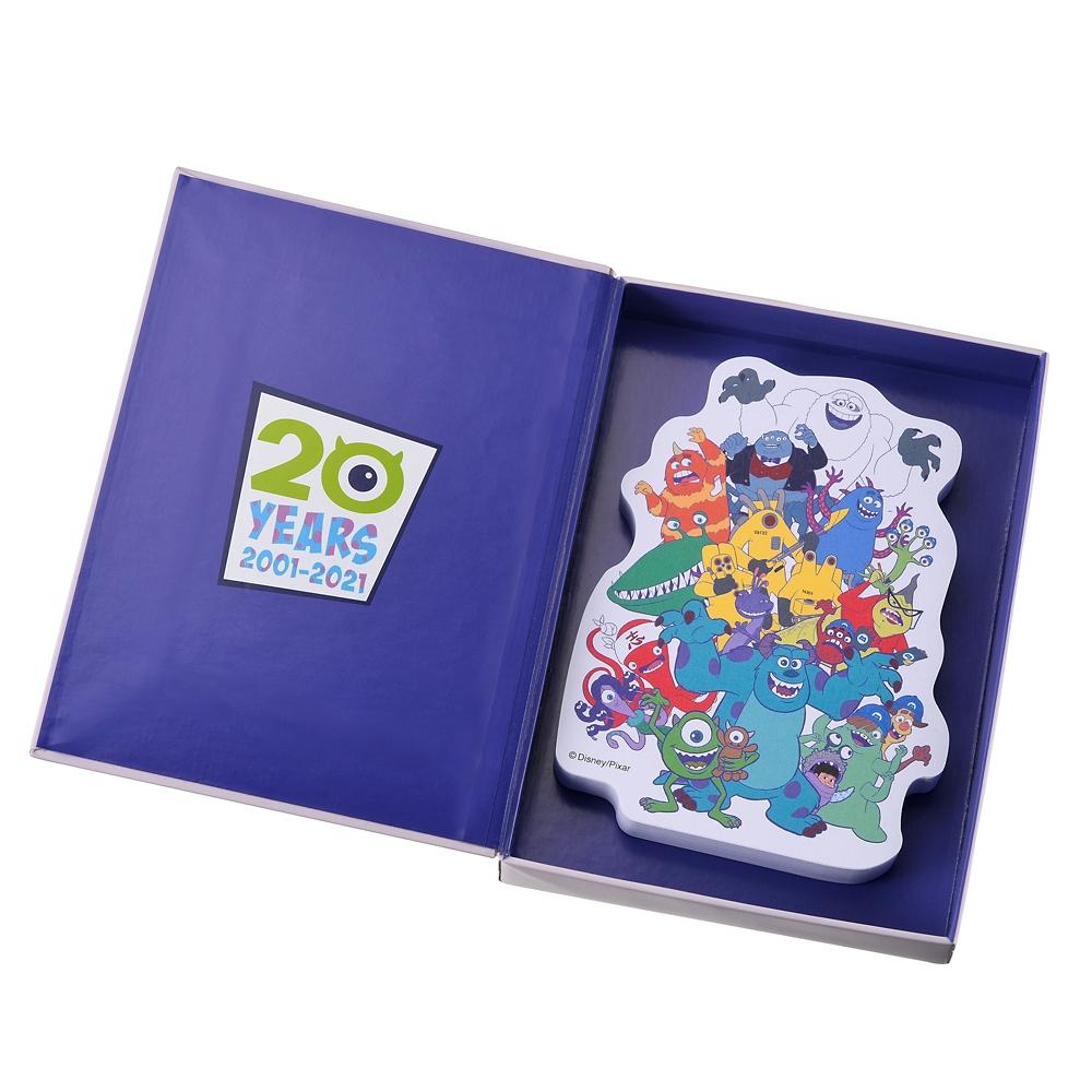 モンスターズ・インク 付箋・メモ帳 ボックス入り Monsters Inc. 20th