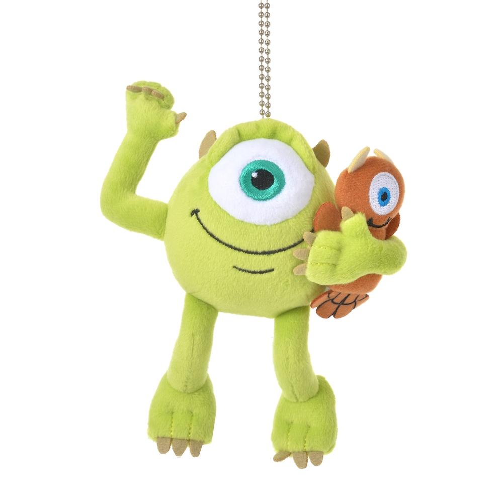 マイク&リトルマイキー ぬいぐるみキーホルダー・キーチェーン Monsters Inc. 20th