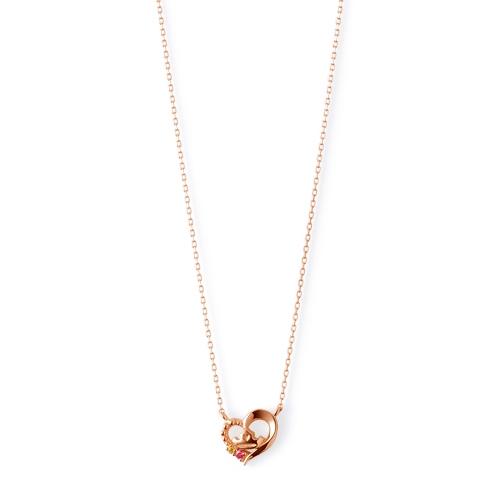 【ザ・キッス】DI-PN1814PSP ディズニープリンセス オーロラ姫 / ピンクゴールド ネックレス 40cm