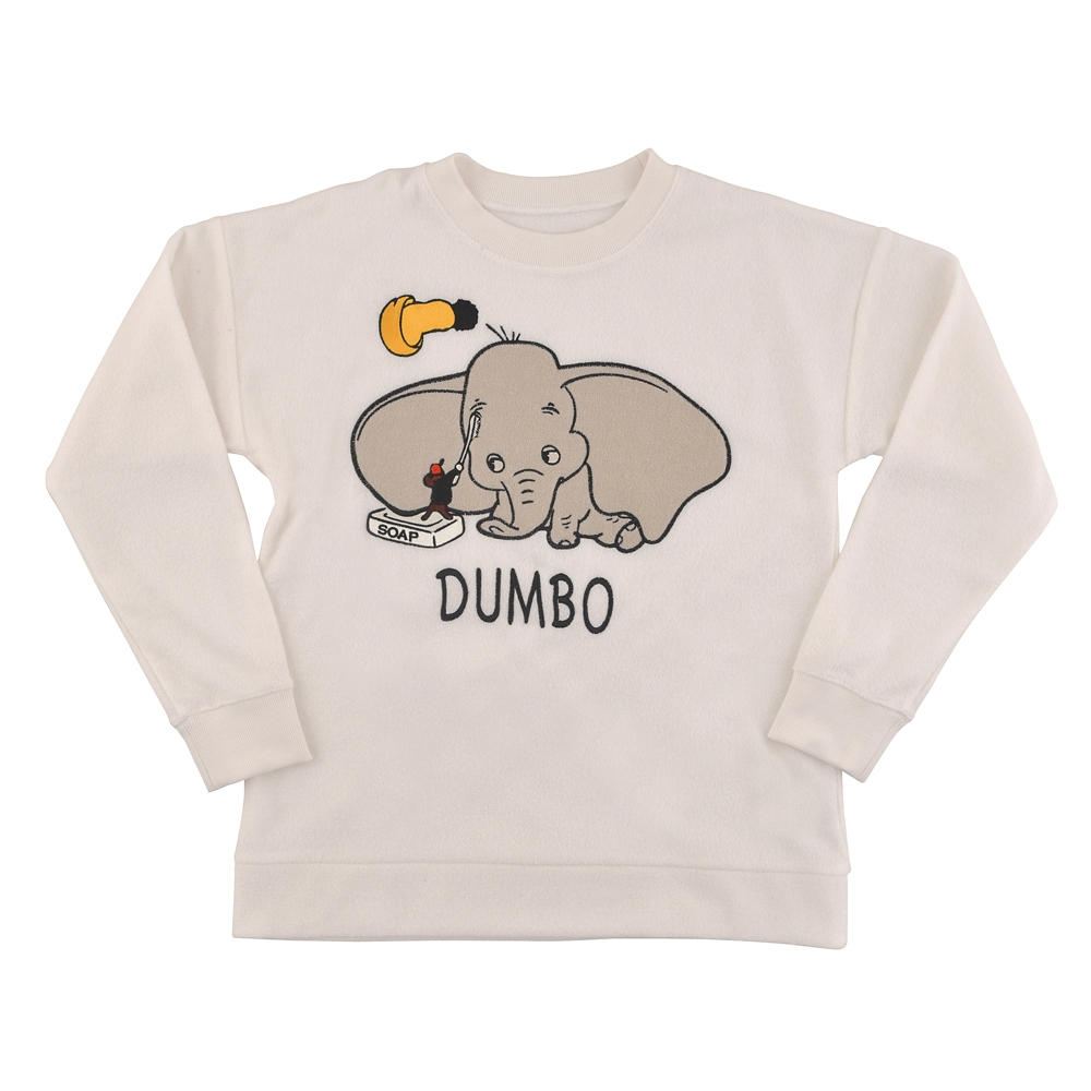 ダンボ&ティモシー 長袖パジャマ DUMBO 80