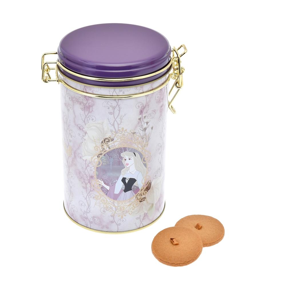 オーロラ姫、マレフィセント&ディアブロ サブレ キャニスター缶入り 眠れる森の美女 Tea Party