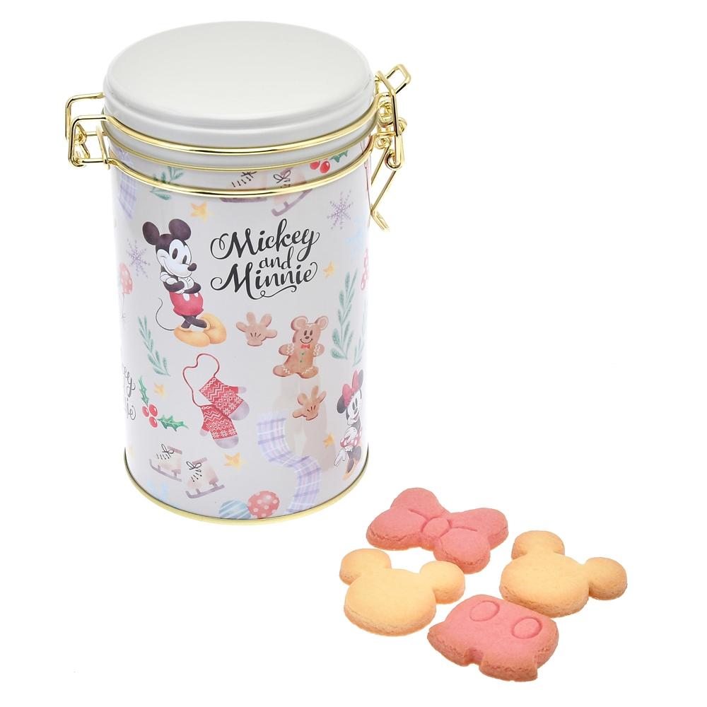 ミッキー&ミニー クッキー キャニスター缶入り ホリデー Gift