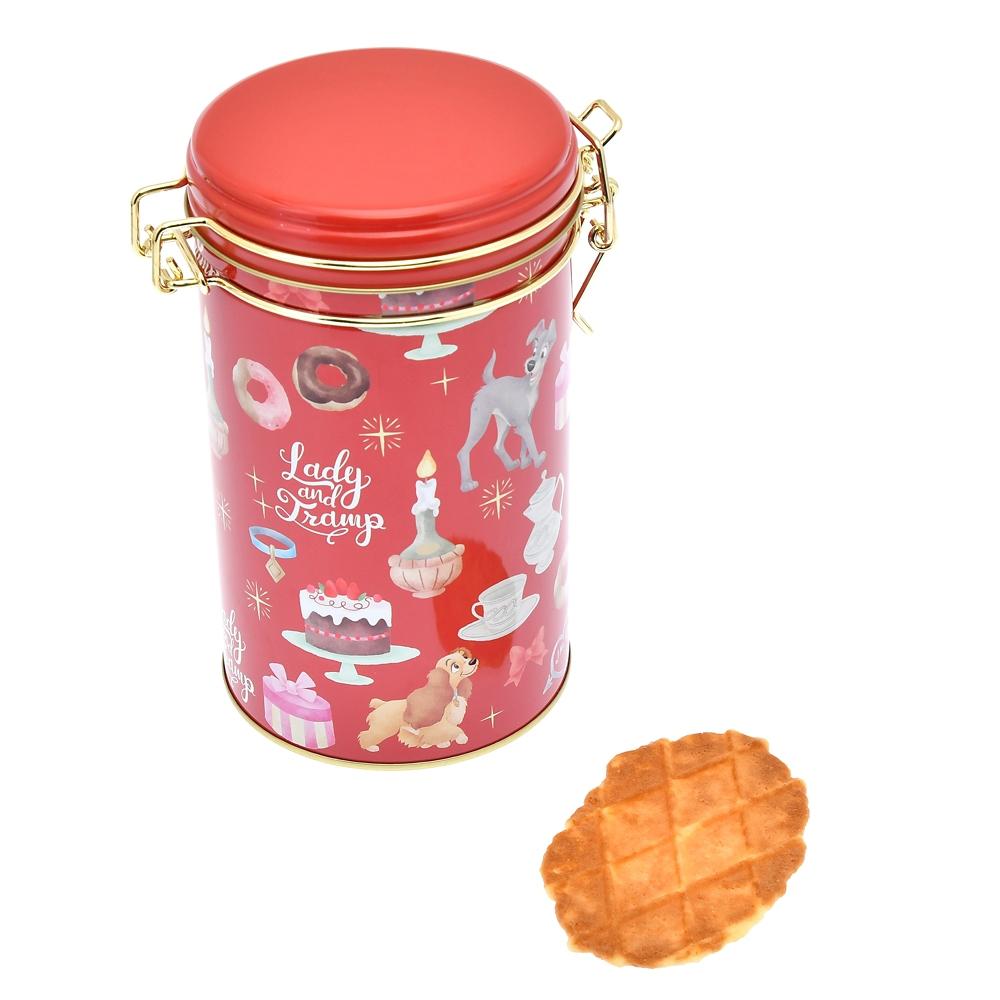 レディ&トランプ ワッフルクッキー キャニスター缶入り ホリデー Gift