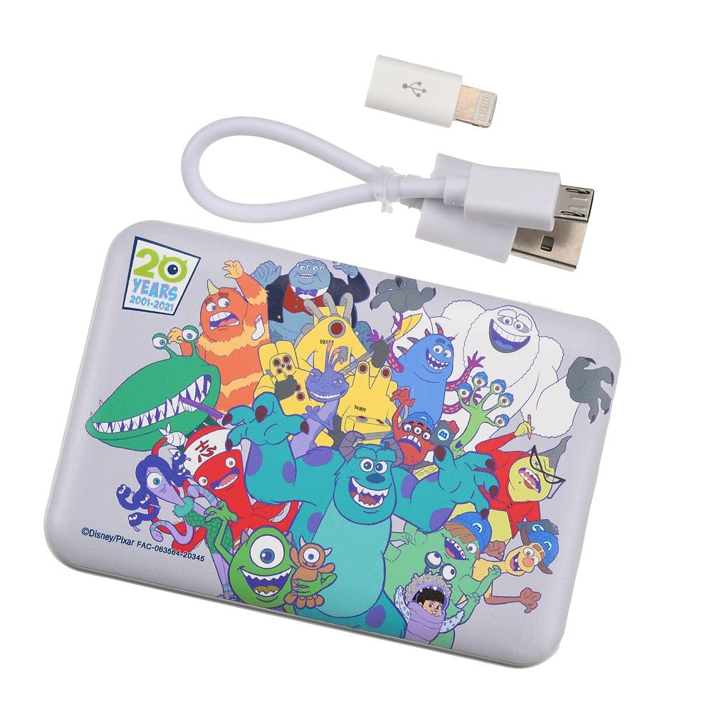 モンスターズ・インク モバイルバッテリーチャージャー Monsters Inc. 20th