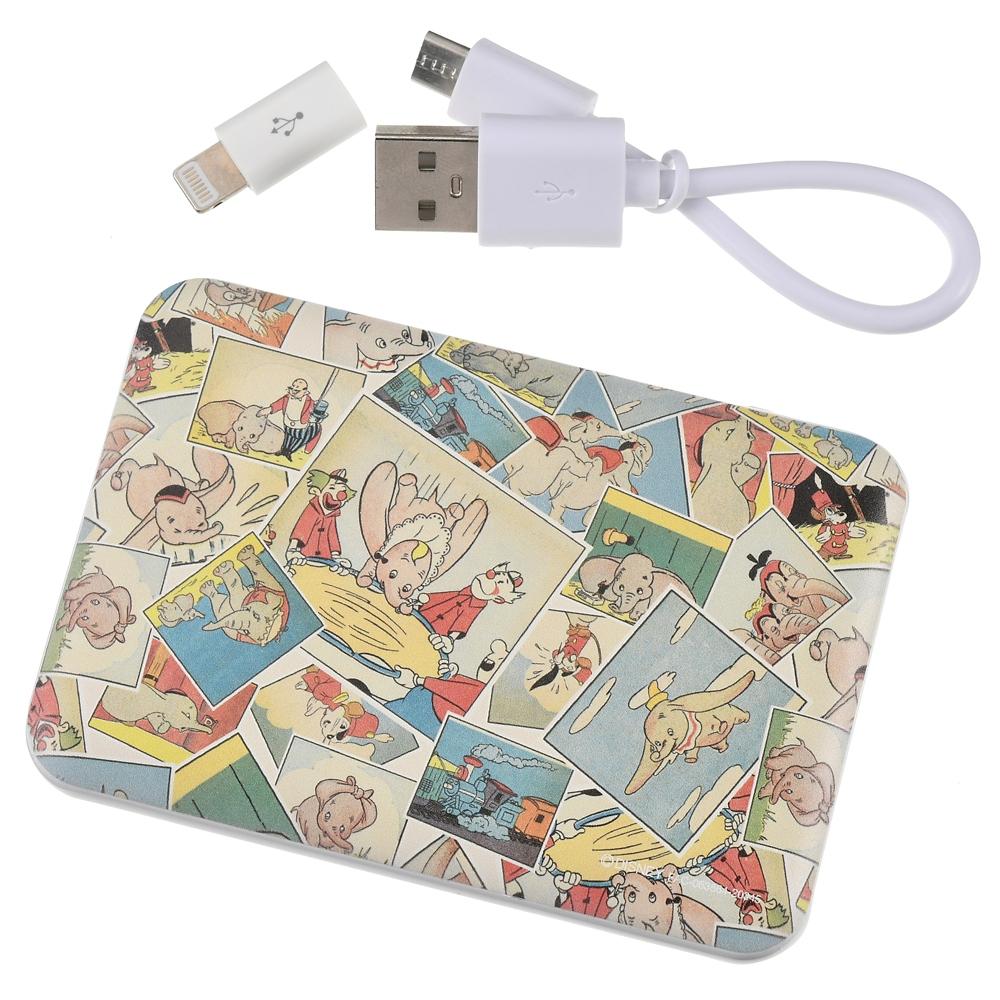 ダンボ&ティモシー モバイルバッテリーチャージャー Dumbo 80