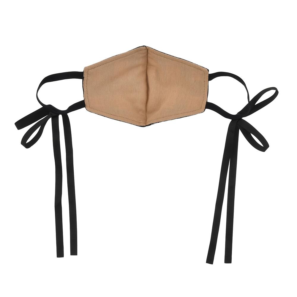 ミニー 家庭用布マスク チェック柄 リボン