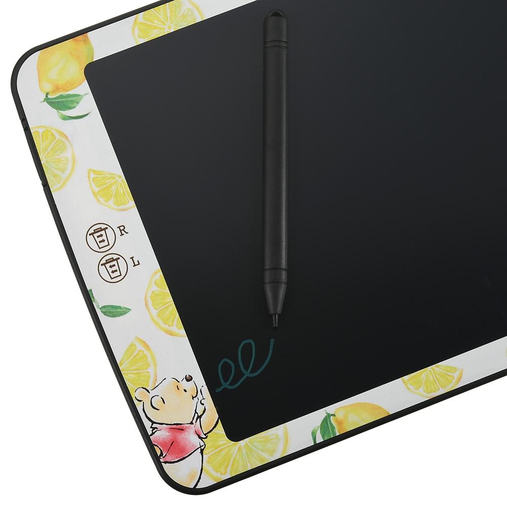 プーさん 電子メモ タブレット 2画面タイプ ウォーターカラー