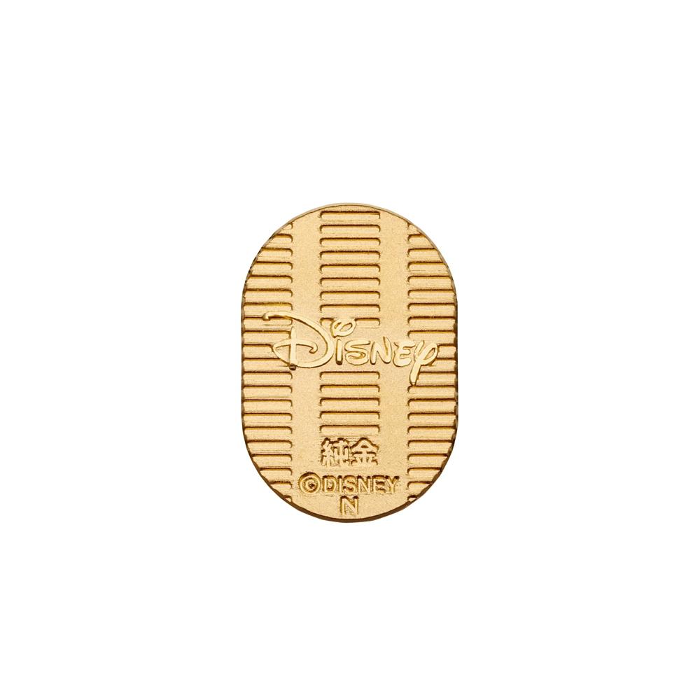【送料無料】ミッキーマウス純金小判3g 専用桐箱ケース付き