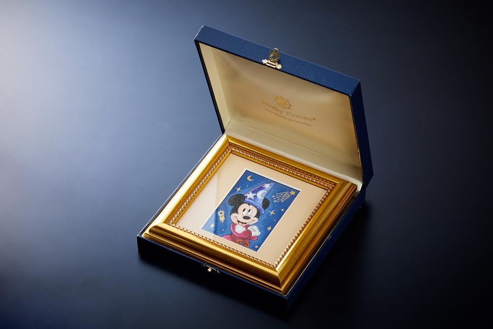 【受注生産】ジュエリー絵画 『ファンタジア』 ミッキー SSサイズ