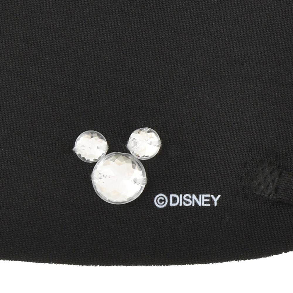 ミッキー 家庭用布マスク ブラック ストーン