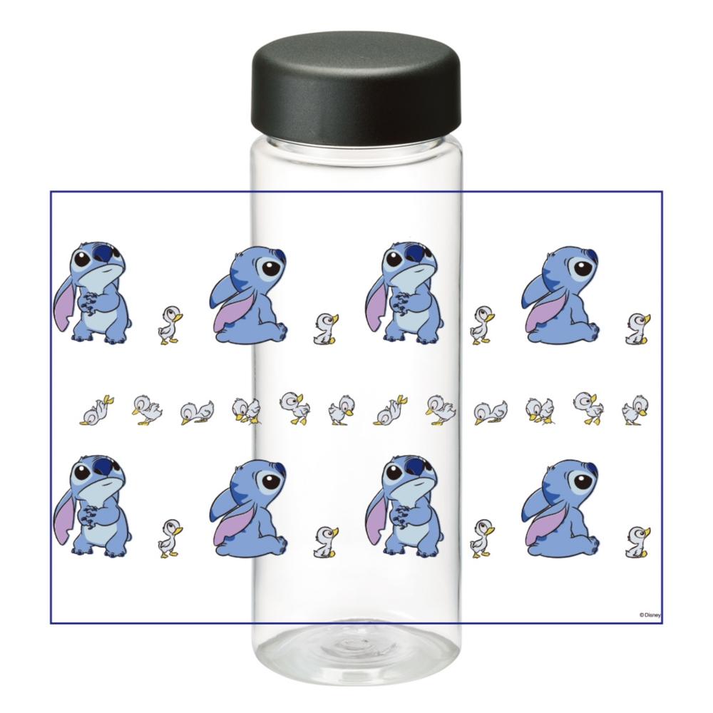 【D-Made】クリアボトル リロ&スティッチ スティッチ&アヒル Stitch's OHANA
