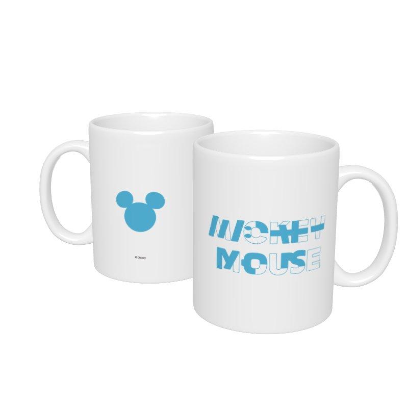【D-Made】マグカップ  ミッキー ブルー KATAKANA