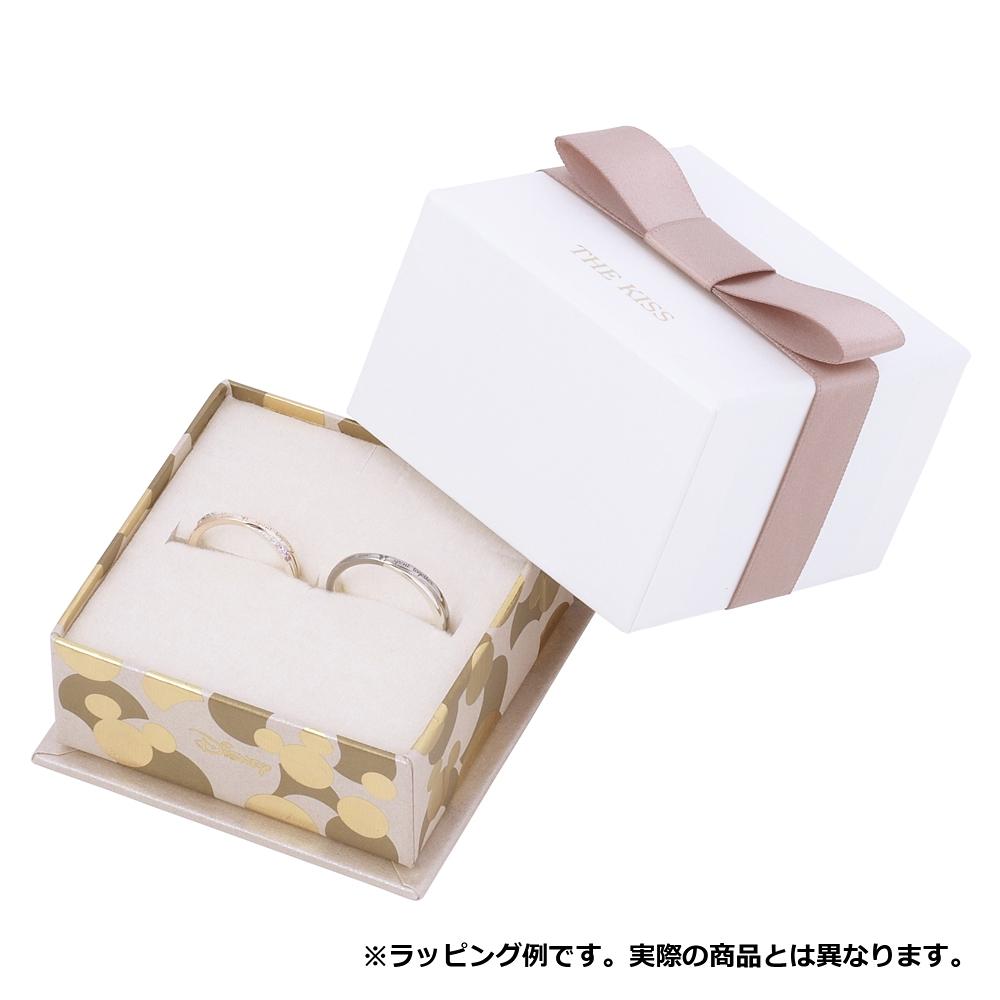 【ザ・キッス】DI-SN1850DM ディズニー 隠れミッキー / シルバー ネックレス 50cm