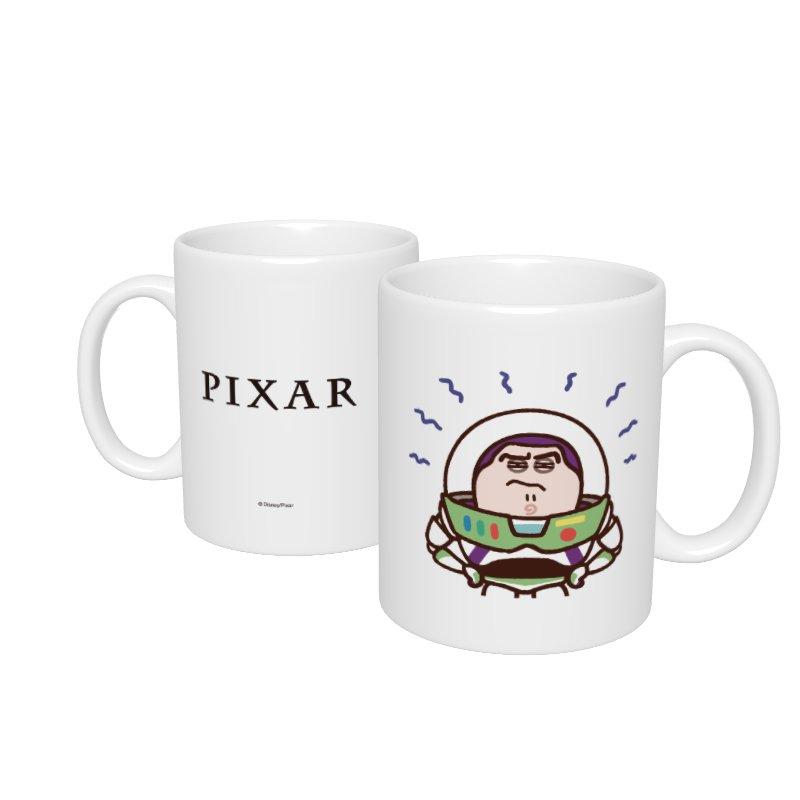 【D-Made】マグカップ  カナヘイ画♪WE LOVE PIXAR バズ・ライトイヤー