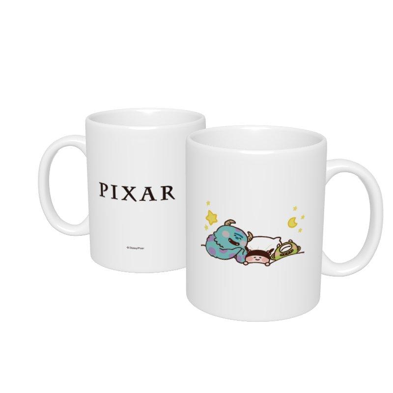 【D-Made】マグカップ  カナヘイ画♪WE LOVE PIXAR サリー&マイク&ブー