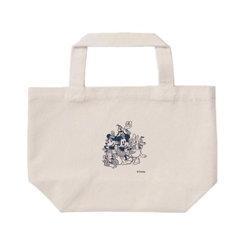 【D-Made】ミニトートバッグ  ミッキー&フレンズ 集合 コミック フレンドシップデー