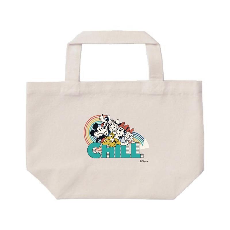 【D-Made】ミニトートバッグ  ミッキー&フレンズ 集合 CHILL フレンドシップデー