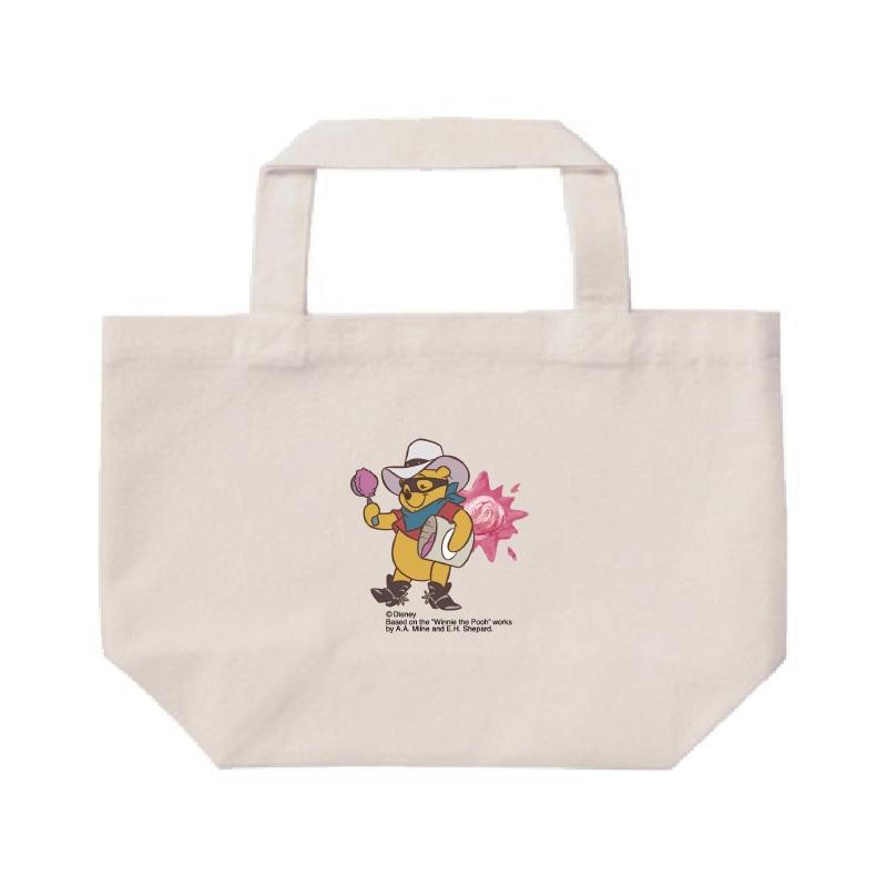 【D-Made】ミニトートバッグ  くまのプーさん プーさん Western Pooh