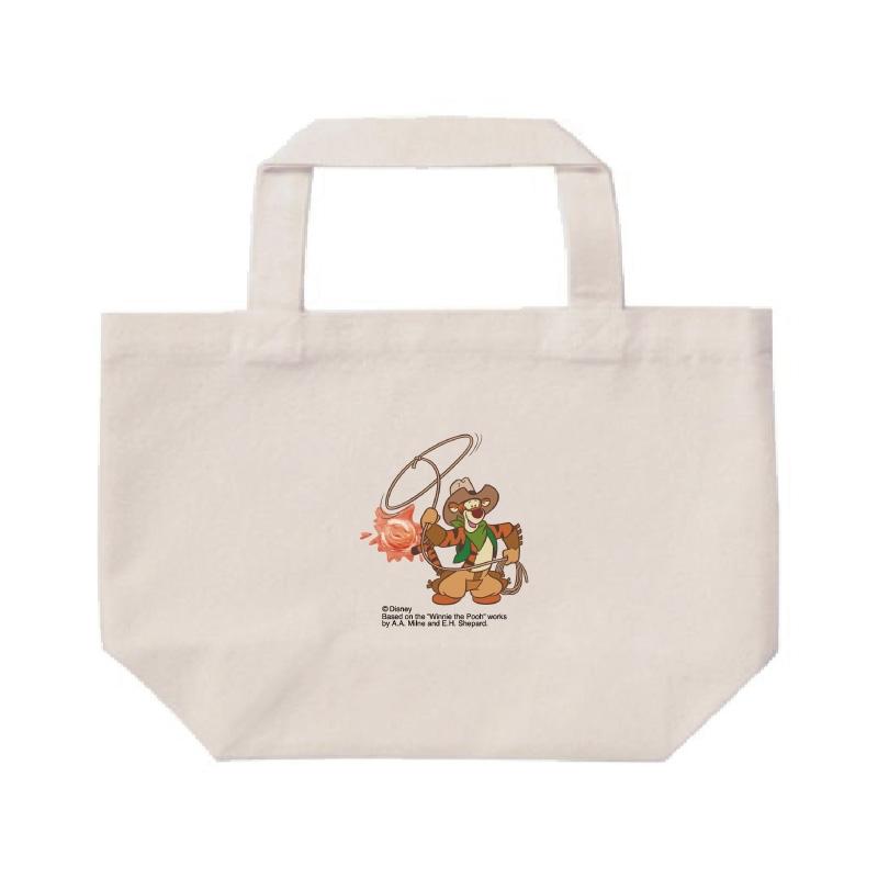 【D-Made】ミニトートバッグ  くまのプーさん ティガー Western Pooh