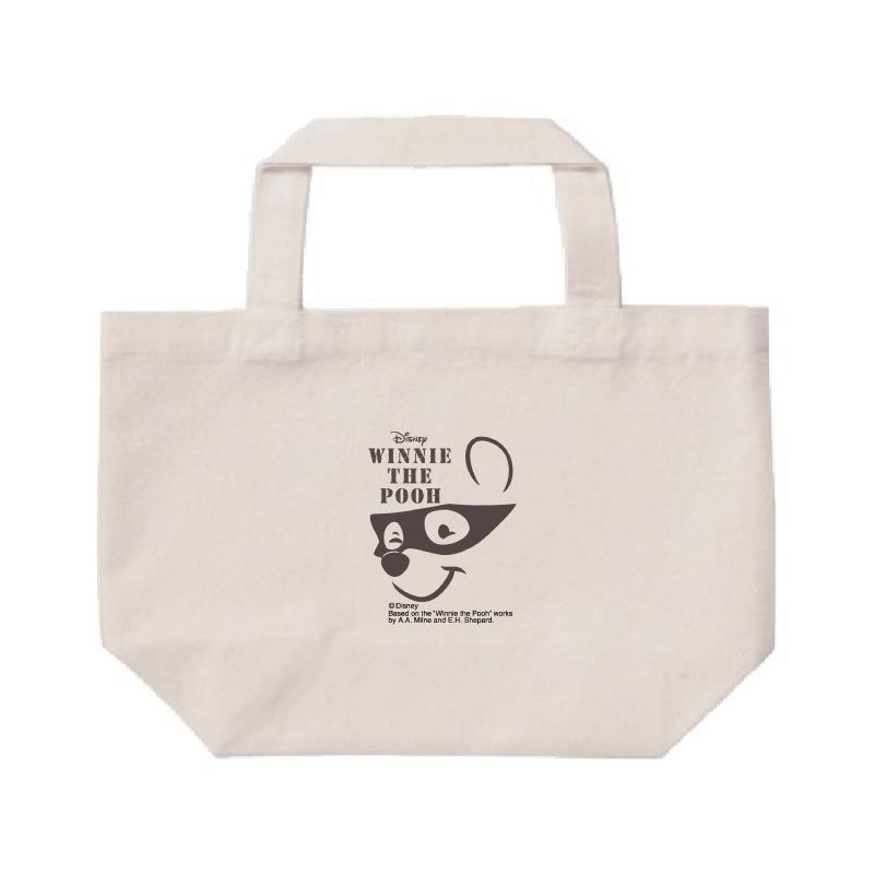【D-Made】ミニトートバッグ  くまのプーさん プーさん face Western Pooh