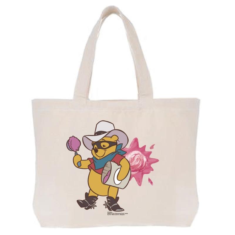 【D-Made】トートバッグ  くまのプーさん プーさん Western Pooh