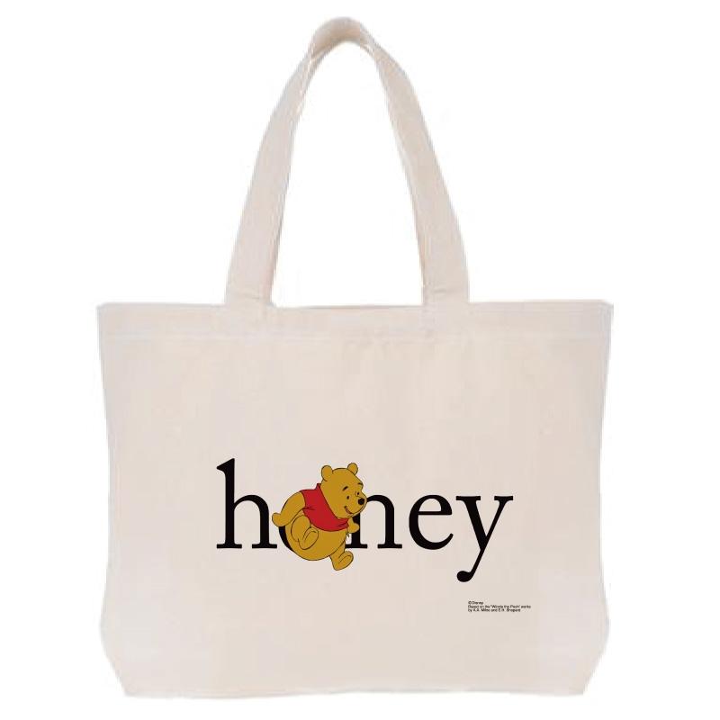 【D-Made】トートバッグ  くまのプーさん プーさん Honey