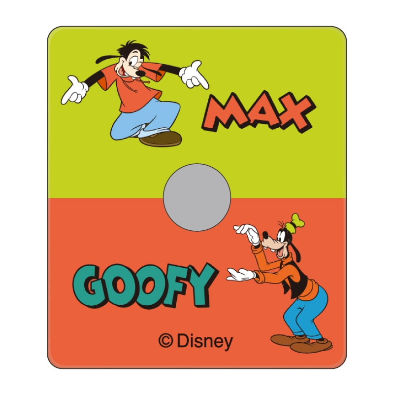 【D-Made】スマホリング グーフィー&マックス
