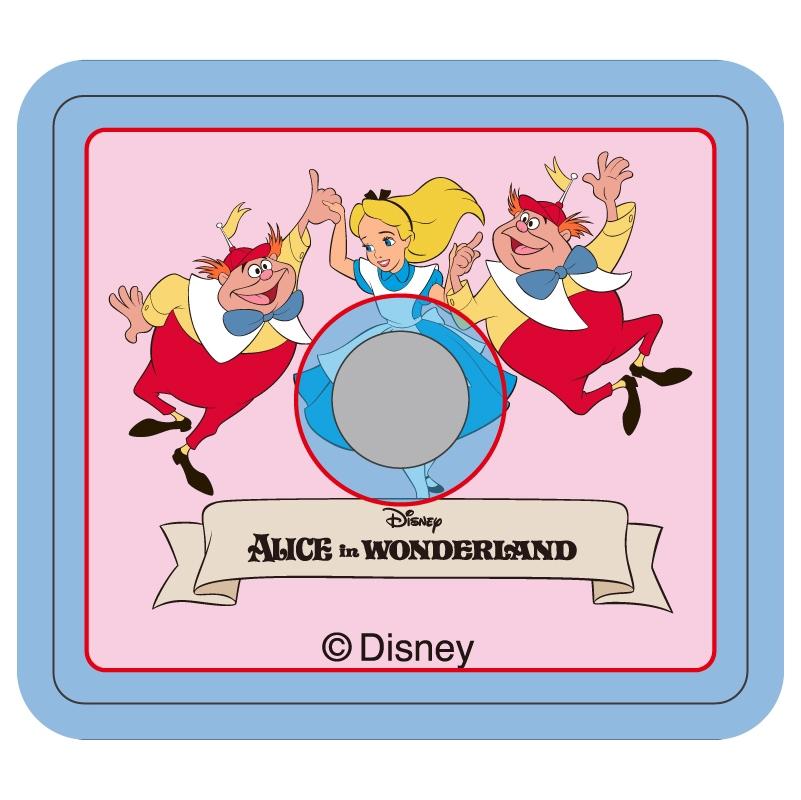 【D-Made】スマホリング ふしぎの国のアリス アリス&双子のディーとダム