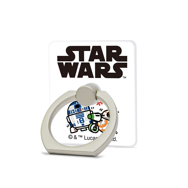【D-Made】スマホリング カナヘイ画♪スター・ウォーズ R2-D2&BB-8