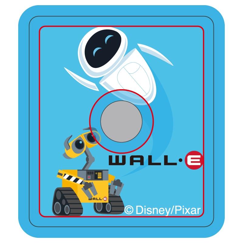 【D-Made】スマホリング ウォーリー ウォーリー&イヴ