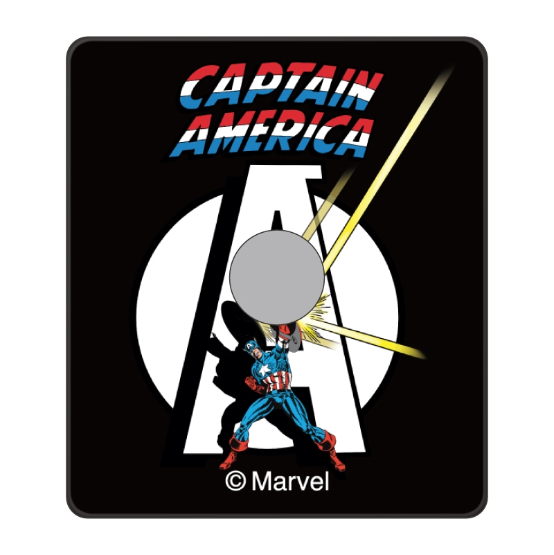 【D-Made】スマホリング MARVEL アベンジャーズ キャプテン・アメリカ