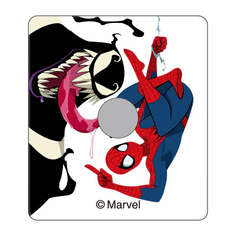 【D-Made】スマホリング MARVEL スパイダーマン&ベノム