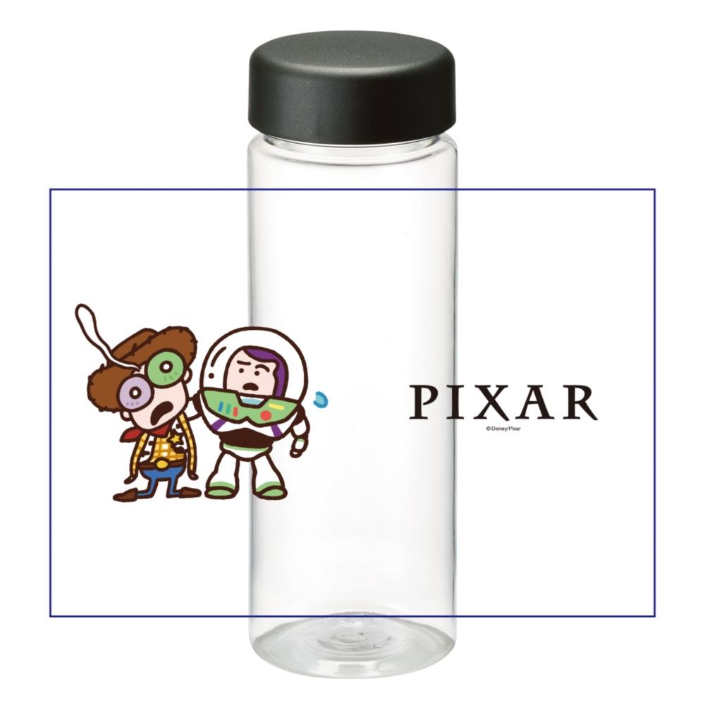 【D-Made】クリアボトル カナヘイ画♪WE LOVE PIXAR ウッディ&バズ・ライトイヤー