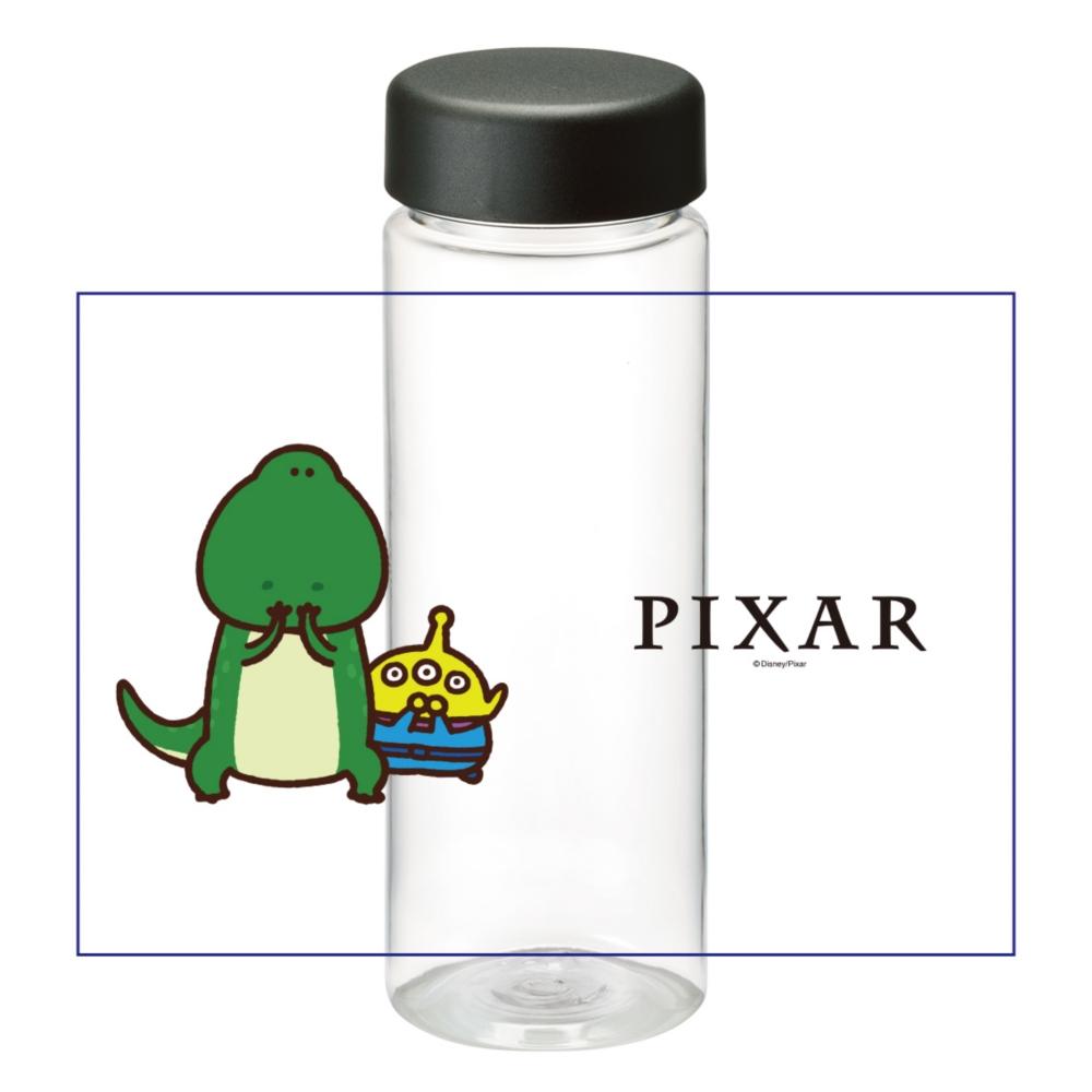 【D-Made】クリアボトル カナヘイ画♪WE LOVE PIXAR レックス&リトル・グリーン・メン/エイリアン