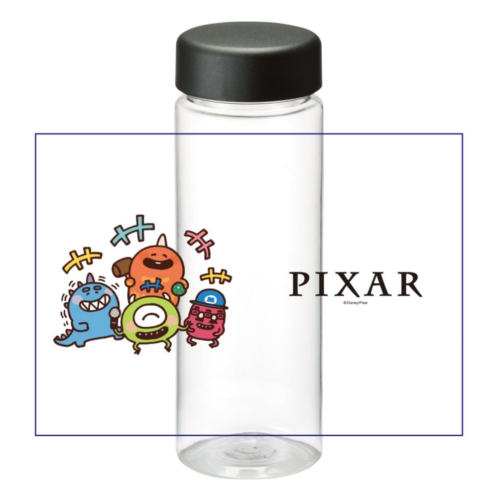 【D-Made】クリアボトル カナヘイ画♪WE LOVE PIXAR マイク&バイル&ジョージ&ファンガス