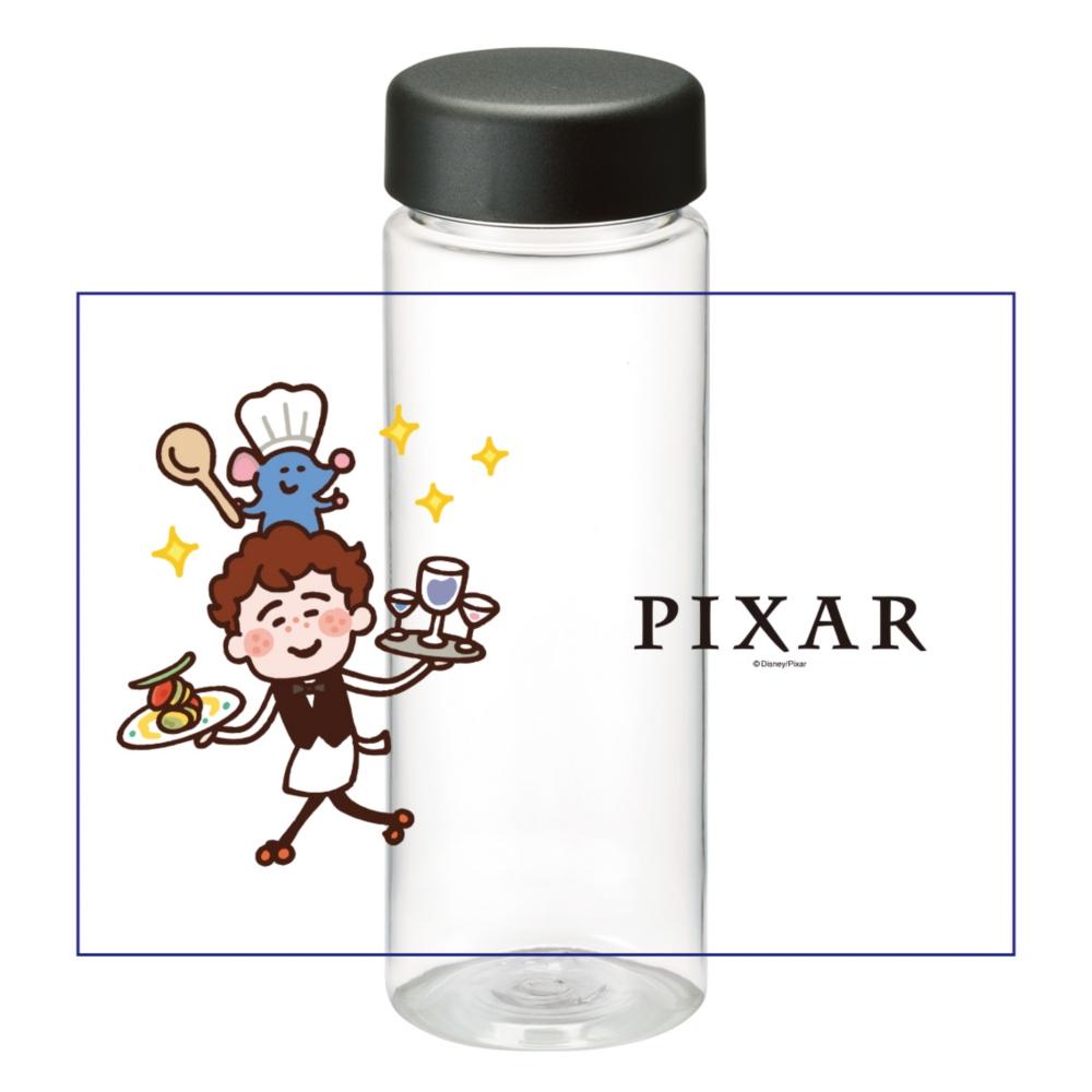 【D-Made】クリアボトル カナヘイ画♪WE LOVE PIXAR レミー&アルフレッド・リングイニ