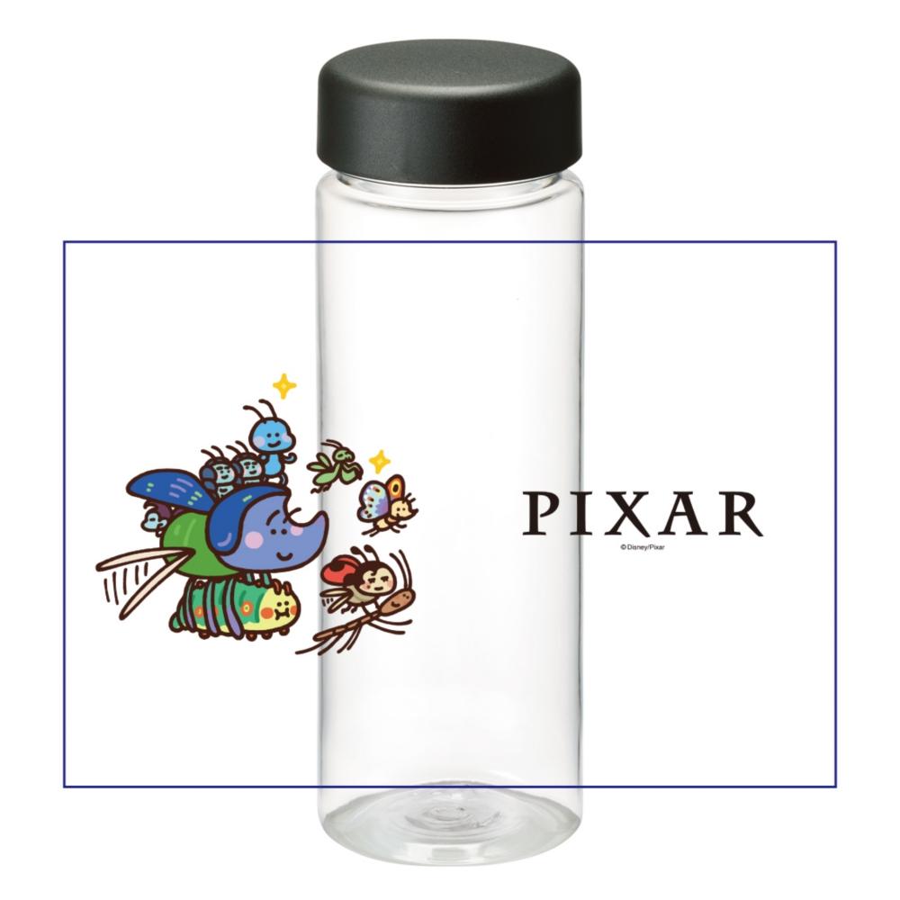 【D-Made】クリアボトル カナヘイ画♪WE LOVE PIXAR バグズ・ライフ 集合