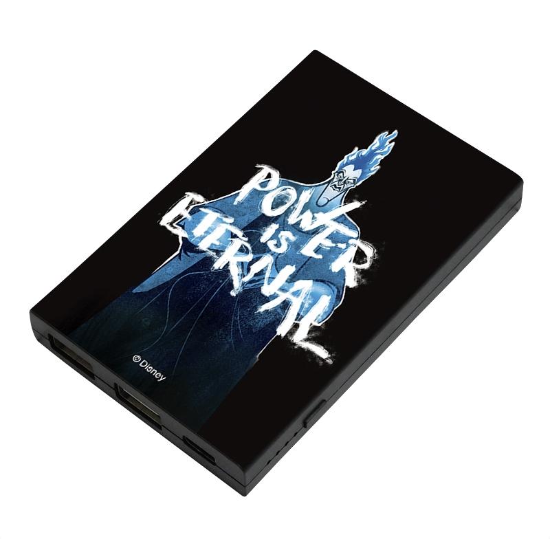 【D-Made】モバイルバッテリーチャージャー ヘラクレス ハデス POWER OF ETERNAL ヴィランズ