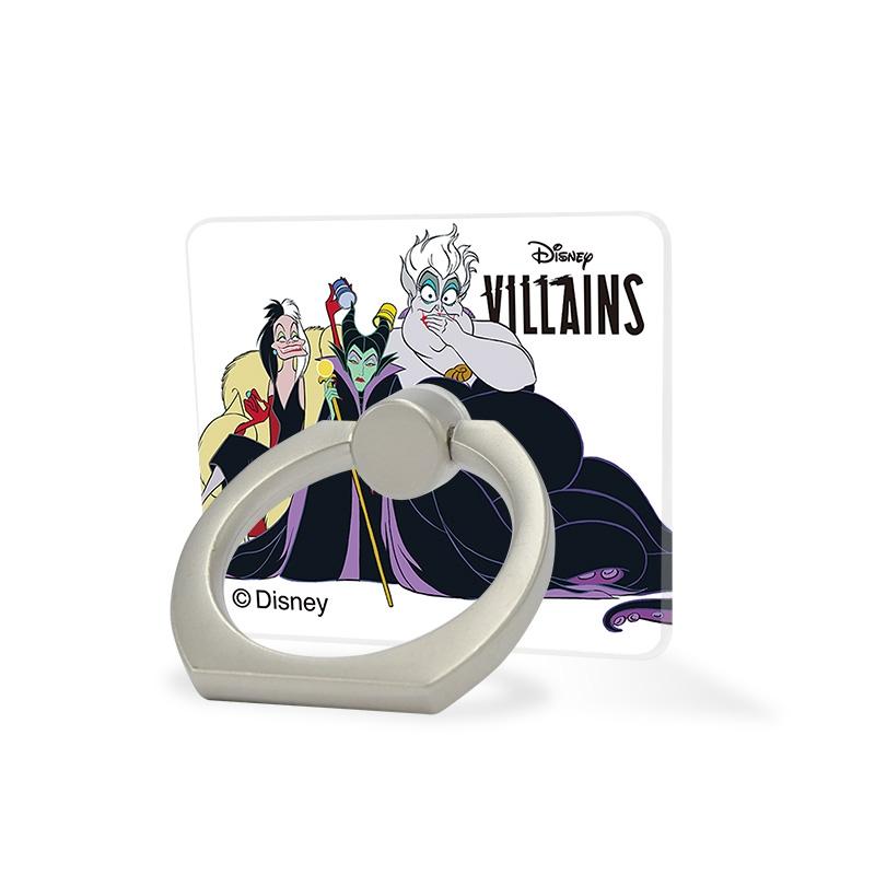 【D-Made】スマホリング ヴィランズ クルエラ&マレフィセント&アースラ Disney Villains