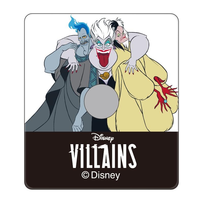 【D-Made】スマホリング ヴィランズ ハデス&アースラ&クルエラ Disney Villains
