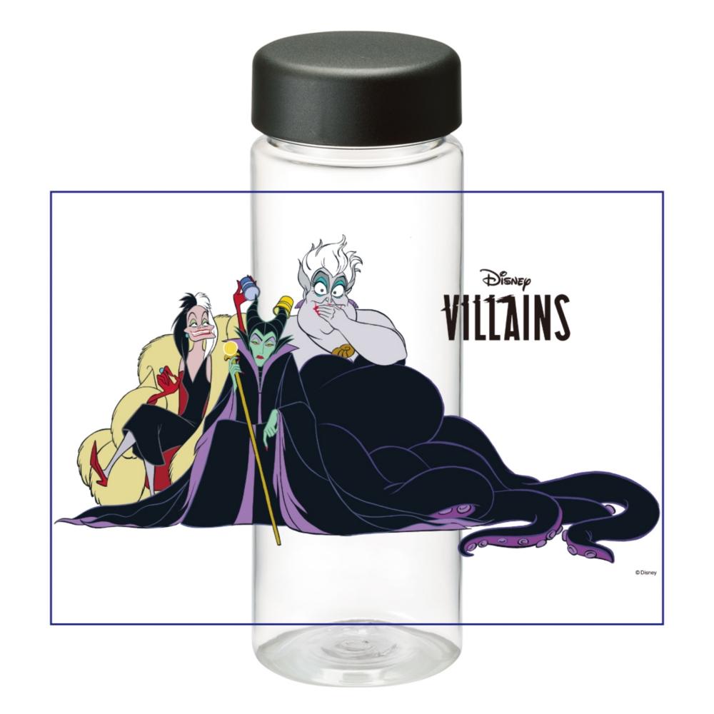 【D-Made】クリアボトル ヴィランズ クルエラ&マレフィセント&アースラ Disney Villains
