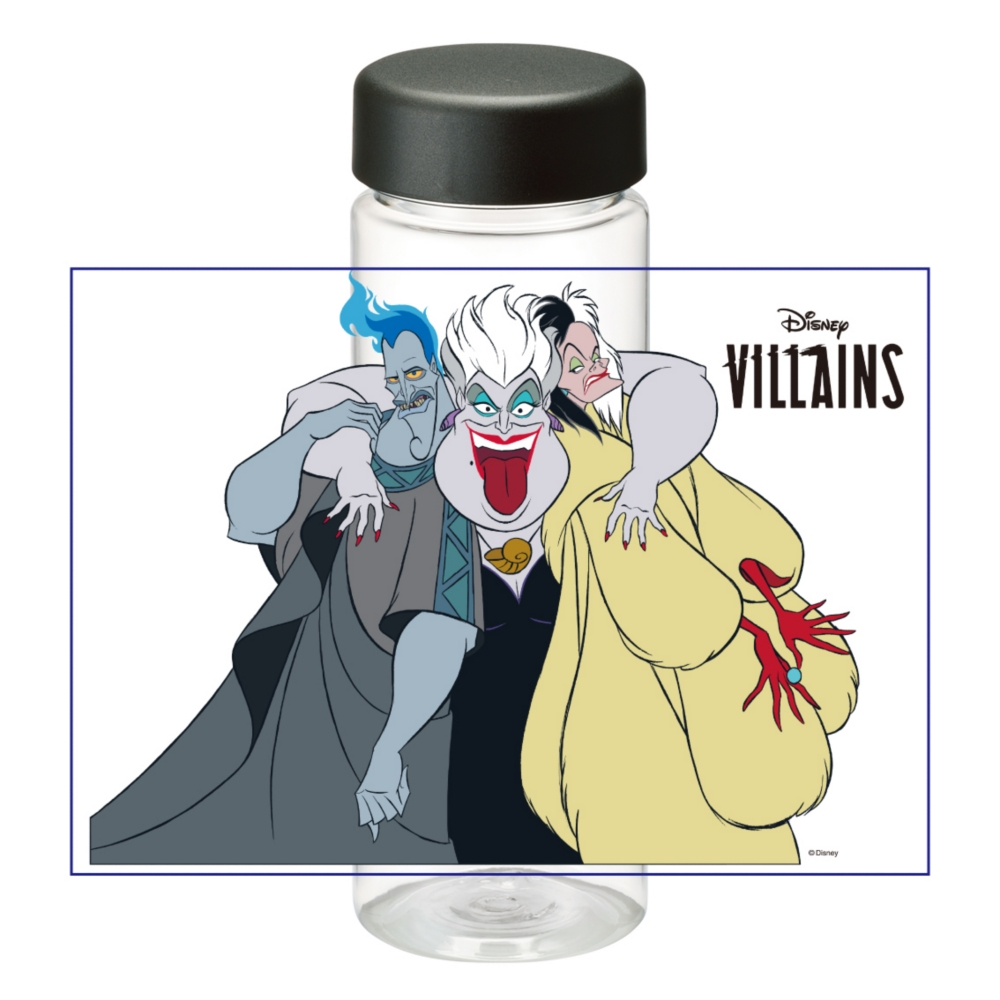 【D-Made】クリアボトル ヴィランズ ハデス&アースラ&クルエラ Disney Villains