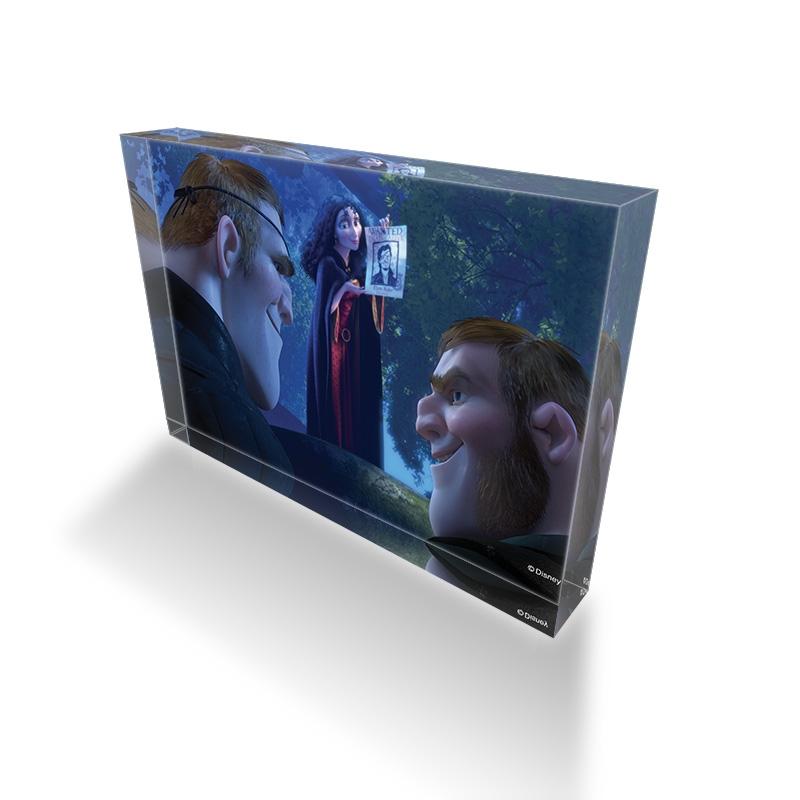 【D-Made】アクリルブロック 映画『塔の上のラプンツェル』ゴーテル&スタビントン兄弟