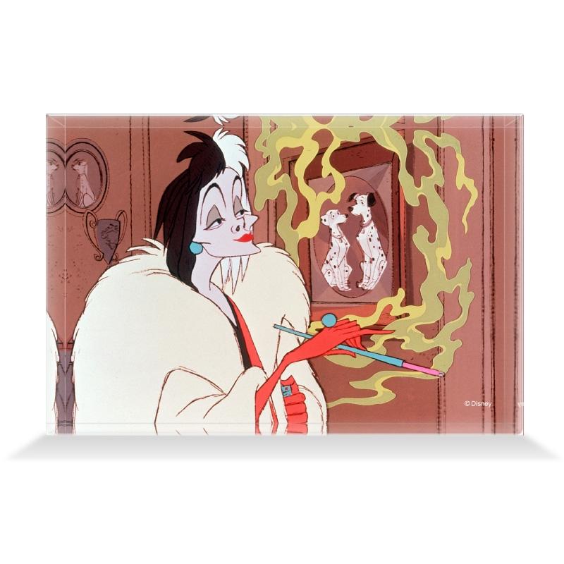 【D-Made】アクリルブロック 映画『101匹わんちゃん』クルエラ&ボンゴ&パディータ